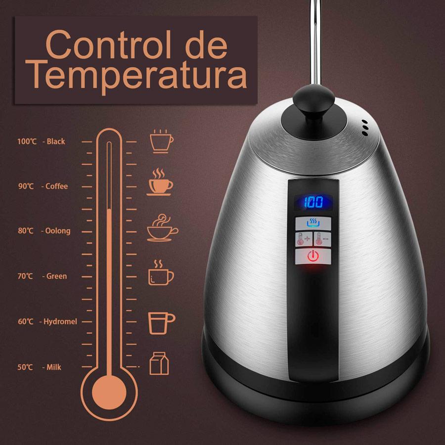 hervidor dr hetzner control temperatura